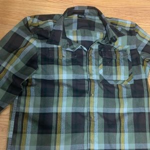 Oakley men's XL flannel button up